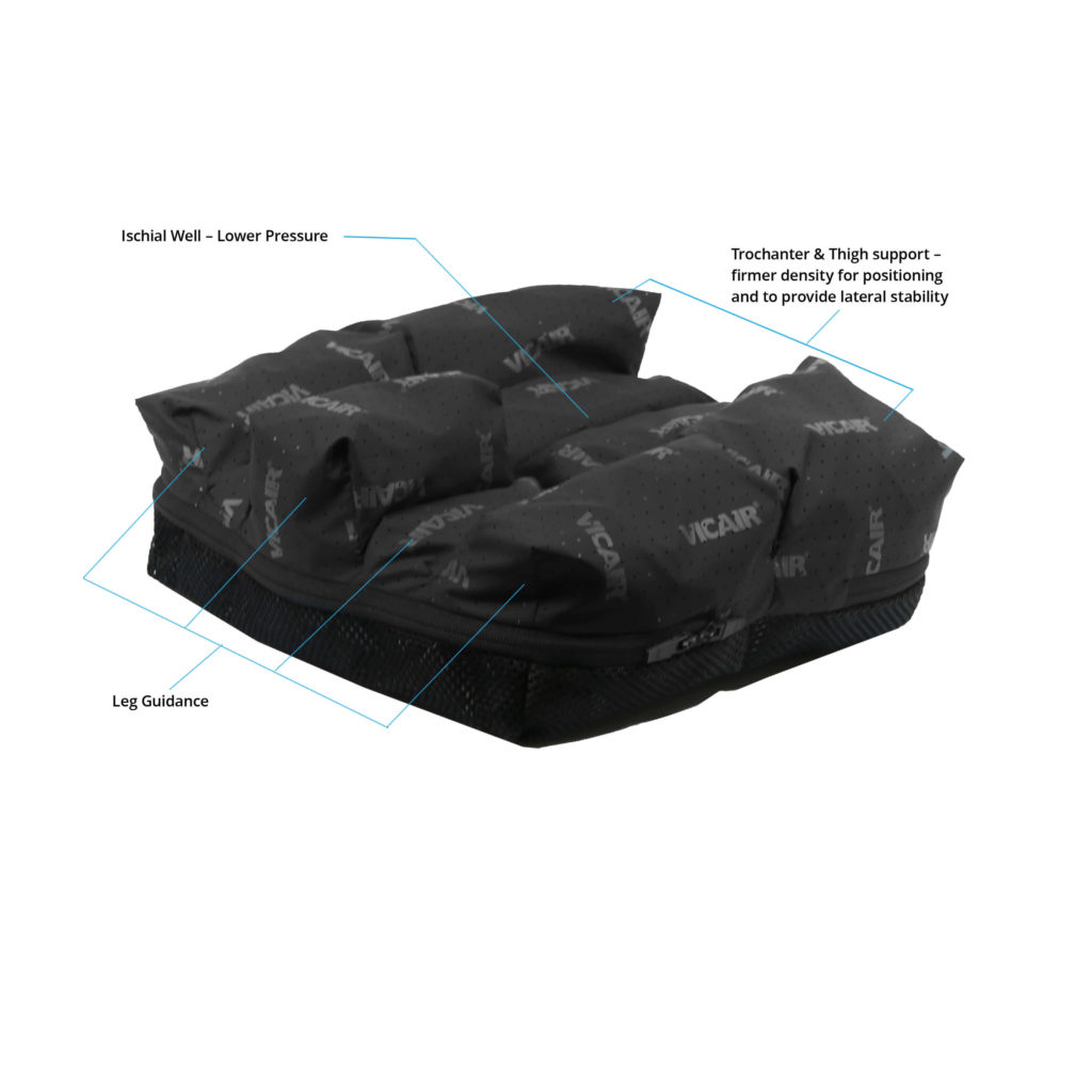 VICAIR ACTIVE 02 WHEELCHAIR CUSHION